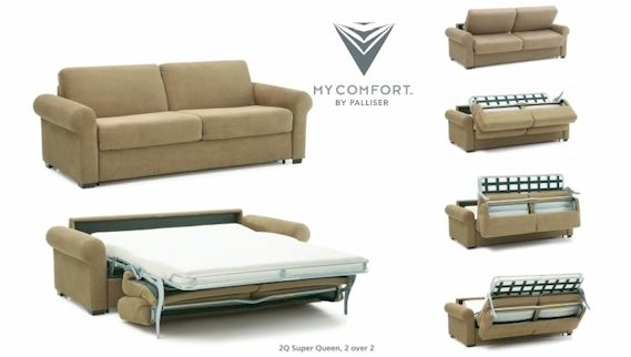 My Comfort by Palliser - Sleep Better » Smitty's Fine Furniture
