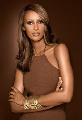 Iman. Fashion Model Iman Mohamed Abdulmajid, professionally known as Iman, is a Somali fashion model, actress and entrepreneur. A pioneer in the field of ethnic cosmetics, she is also noted for her charitable work. She is married to David Bowie.