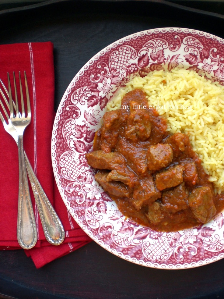 Greek Veal and Tomato Stew