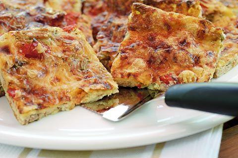 Pizzapannari tonnikalasta      Pellillinen:     6 dl maitoa 3 munaa 3 dl vehnäjauho...