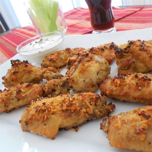 """Garlic and Parmesan Chicken Wings 