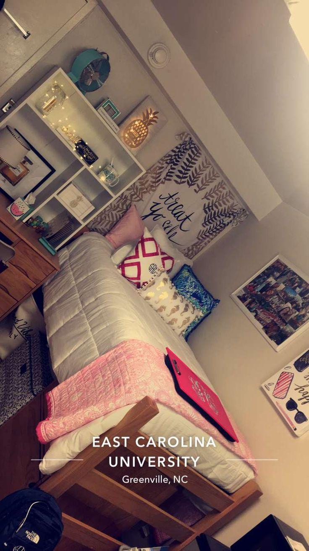 Best C O L L E G E Images On   College Dorm Rooms