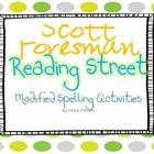 This set contains modified spelling activities and tests for the complete 1st Grade Scott Foresman Reading Street series. It contains 1 test and 1 ...