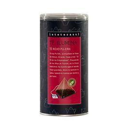 TÉ ILUMINA lateterazul - Té rojo Pu-Erh TÉ ILUMINA de La Tetera Azul procede de Yunnan, en la China tradicional, donde fue durante siglos el secreto mejor guardado. Ahora tú también lo sabes: beberlo te ilumina por dentro y por fuera. http://www.selectosfragola.com/product/1684/0/0/1/TE-ILUMINA-lateterazul-Te-rojo-Pu-Erh.htm