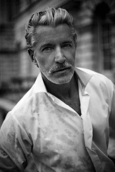 Suave hairstyles for older men