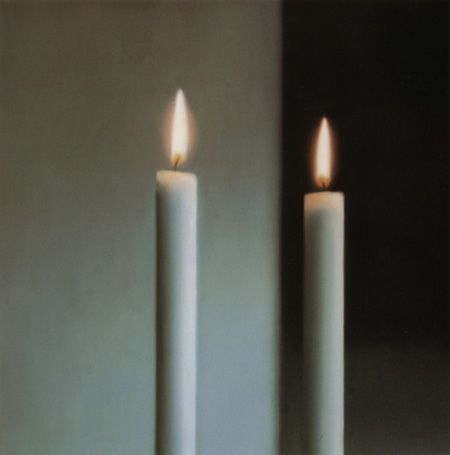 """Two Candles,"" Gerhard Richter, 1982"