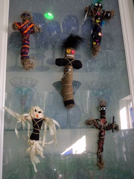 HF member said: voodoo dolls (I originally made them for our Voodoo on the Bayou party)