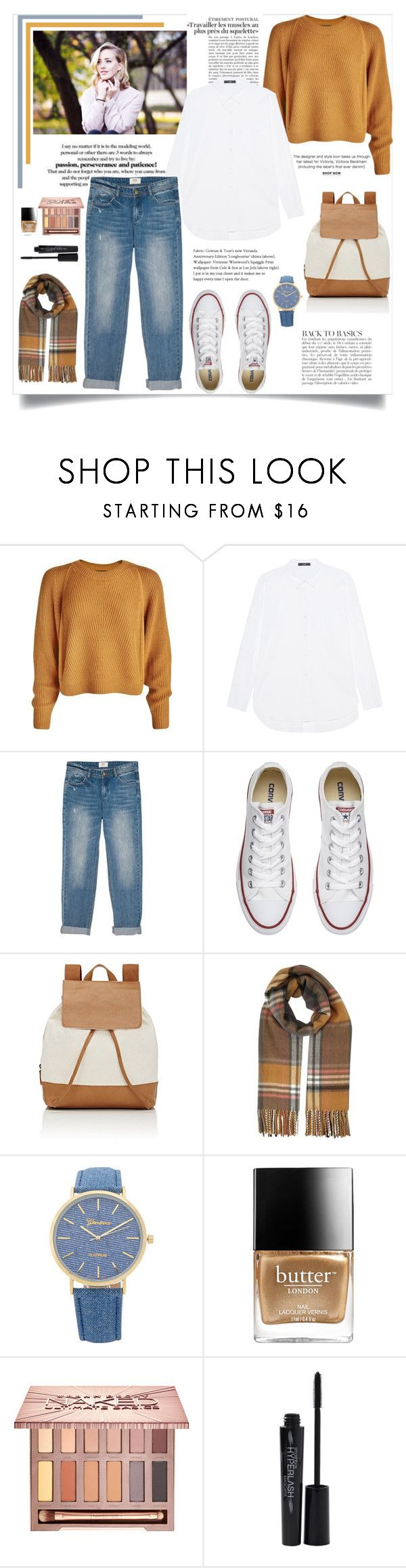 """I don't know what to call it"" by mossoo ❤ liked on Polyvore featuring Victoria Beckham, Steffen Schraut, Converse, Barneys New York, Anja, Miss Selfridge, Butter London, Urban Decay and Smashbox"