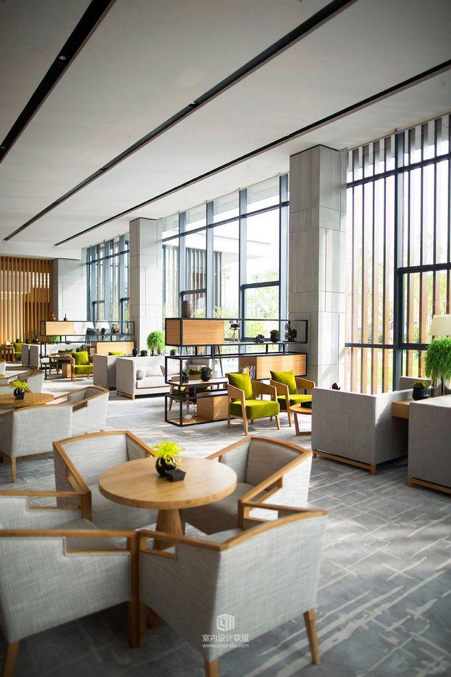 Lobby Desk Design