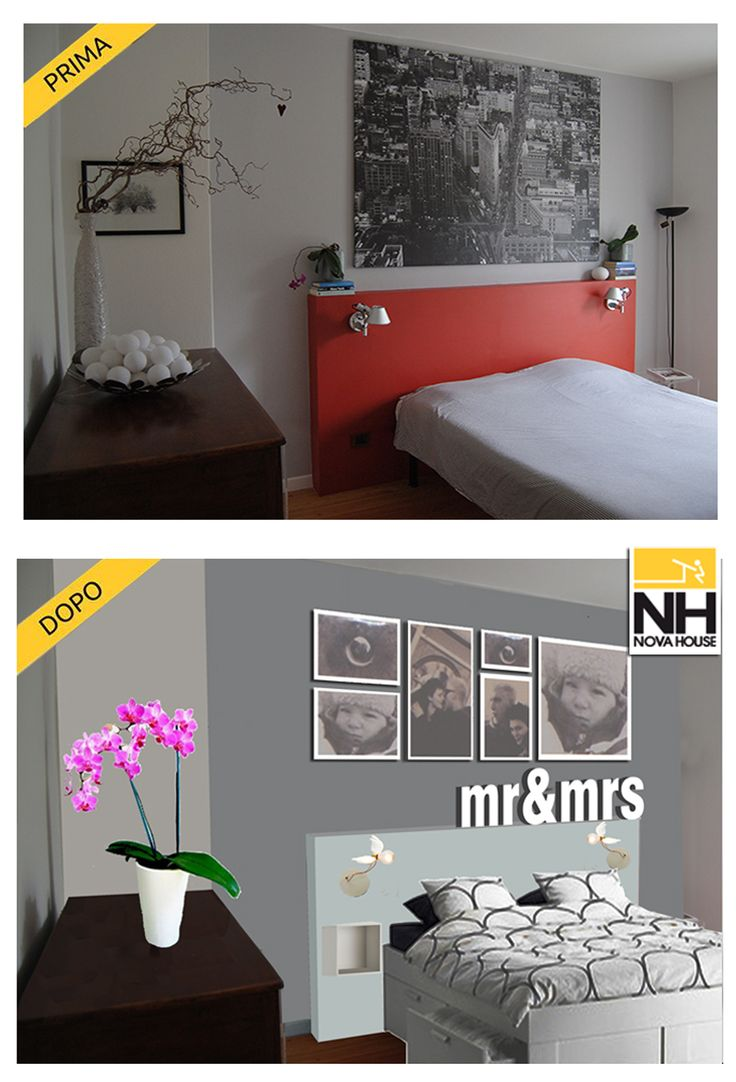 #Novahouse 's #relooking for a #bedroom!