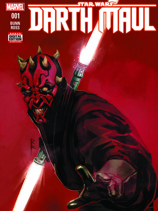 New Star Wars Comic Miniseries Will Focus on Darth Maul  A Darth Maul comic focusing on the Sith apprentice's rise beforeStar Wars Episode I: The Phantom Menace is coming early next year.  Thefive-issueMarvel Comicsminiseries titled Star Wars: Darth Maul will be written by Cullen Bunn and drawn by Luke Ross according to USA Today.  Readers can expect a melded version of the Sith apprentice which will include characteristics from his appearance in The Phantom Menace as well as in both the…