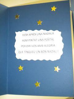 Postal amb poesia de Nadal