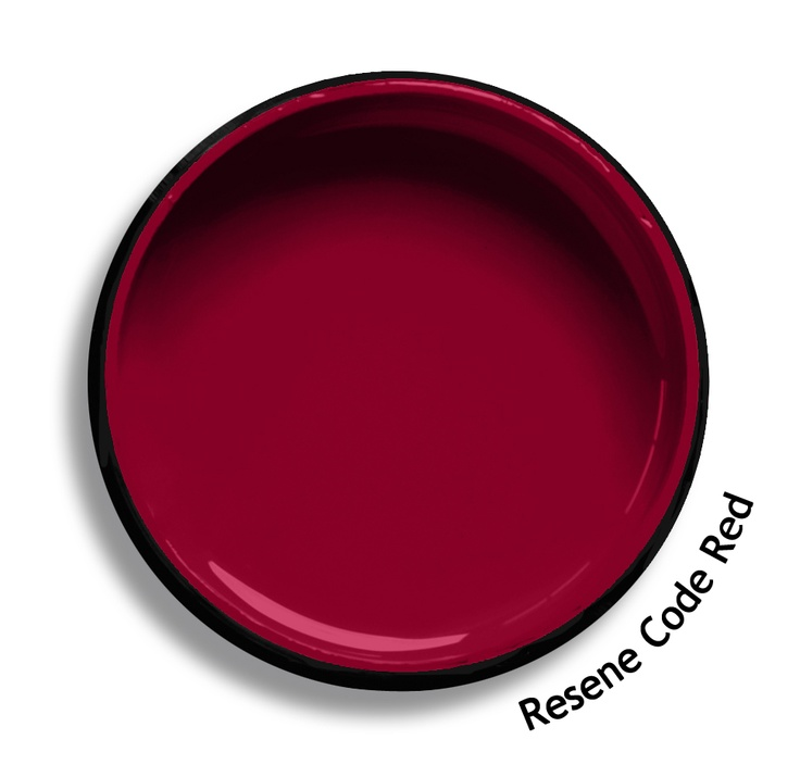 Resene Code Red is a fine blend of poppy red and pomegranate. Try Resene Code Red with rich violets, lilac grey blues or golden nectar yellows such as Resene Pukeko, Resene Alaska or Resene Hive. From the Resene The Range fashion colours. Latest trends available from www.resene.co.nz. Try a Resene testpot or view a physical sample at your Resene ColorShop or Reseller before making your final colour choice.
