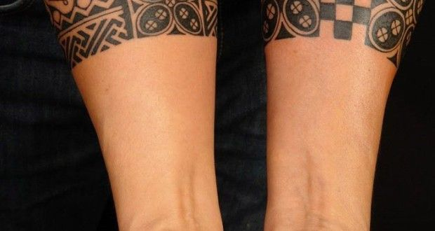 bracelet tatouage avant bras homme
