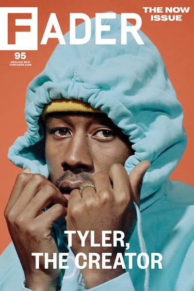 "Get this, 20"" x 30"", Tyler, The Creator poster featuring the cover artwork of The FADER Issue 95. *Please note: order will be processed immediately upon receipt, we will not be able to cancel or chang"