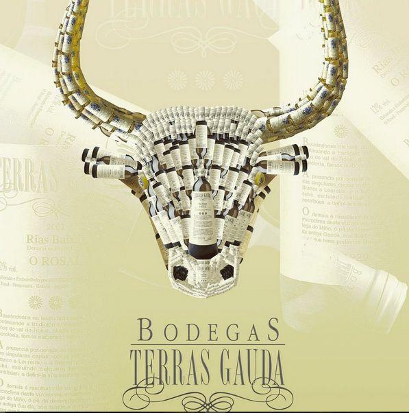 Design Bull - poster design. This is not Red Bull, this is Bodegas Terras Gauda ;) 2004 svejkovsky.ivo@gmail.com Instagram: ivo_svejkovsky