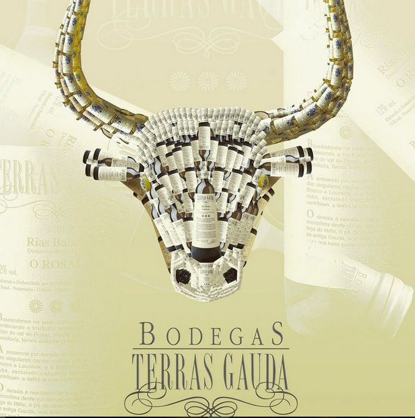 Design Bull - poster design. This is not Red Bull, this is Bodegas Terras Gauda ;) 2004 svejkovsky.ivo@gmail.com Instagram: ivo_svejkovsky