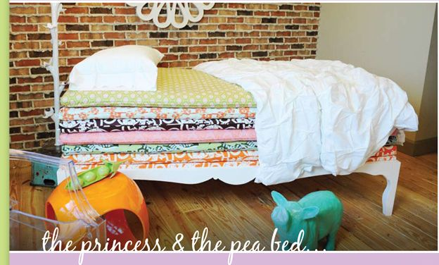 Princess and the pea bed ! so cute