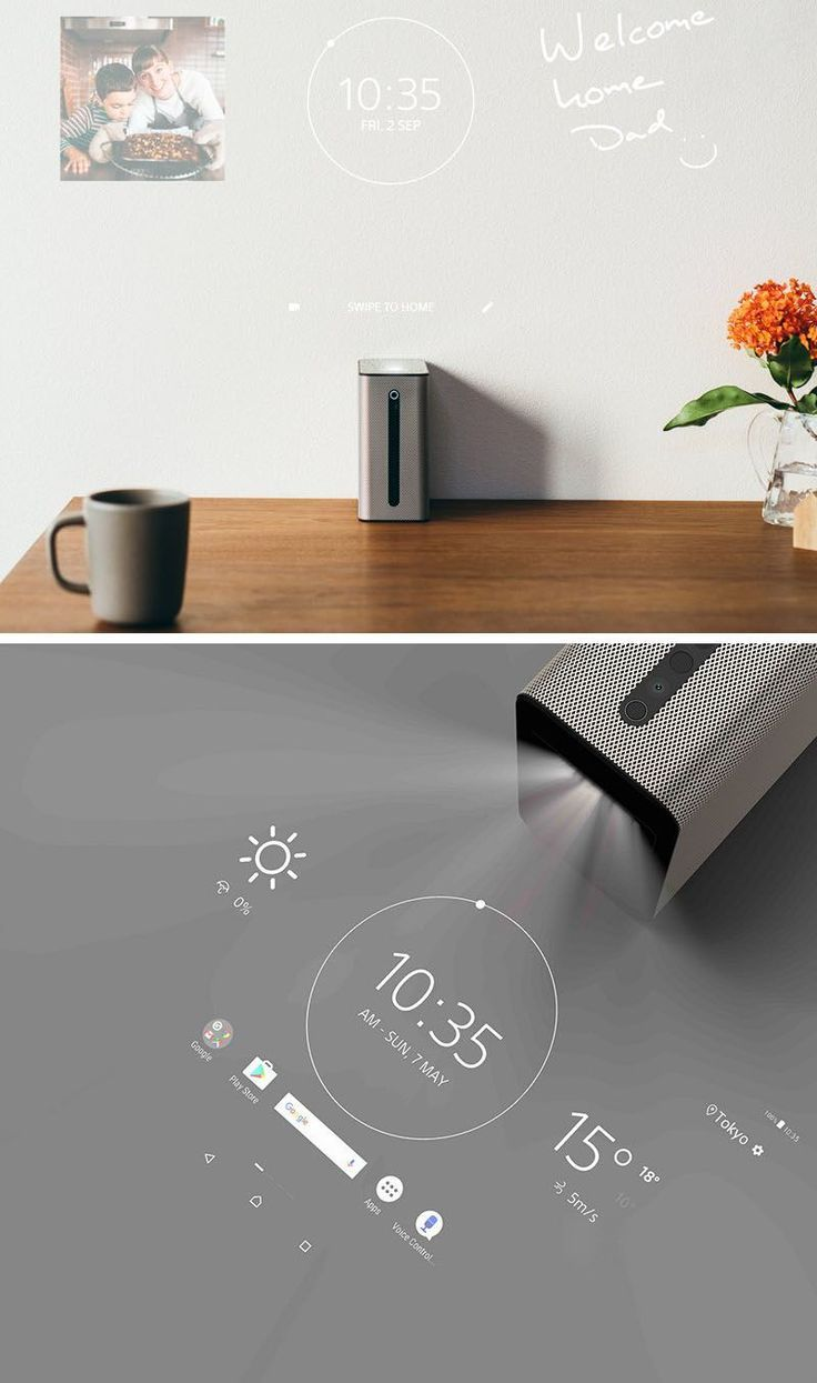 This projector turns any flat surface into an interactive touchscreen – #flat #interactive #projector #surface #technology
