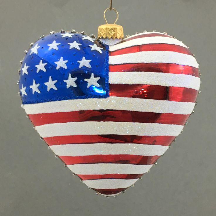 18/5000 Patriotic heart