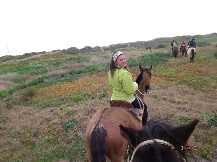 Cabalgando por campos Dunares..