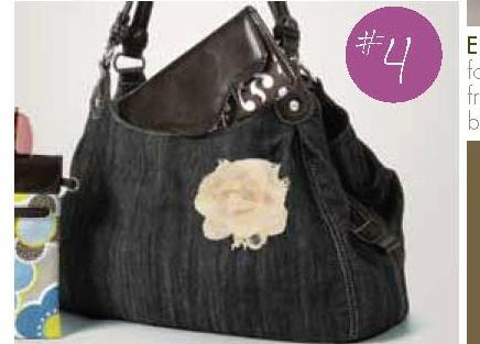 Thirty-one Fifth Avenue denim purse