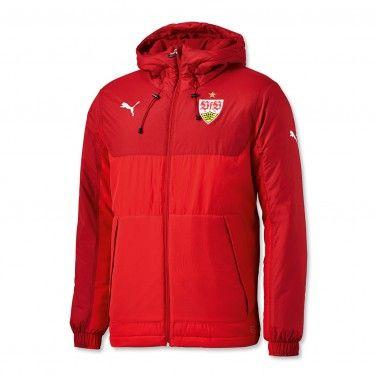 Bench Jacket rot | Jacken & Sweats | TEAMAUSSTATTUNG | FANARTIKEL | shop.vfb.de