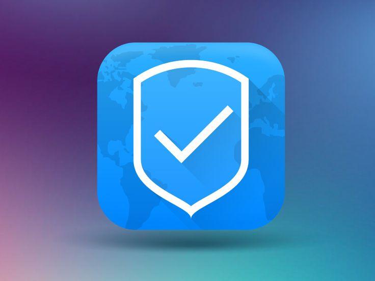 Secure browser icon - by Sergey Lagutin   #ui