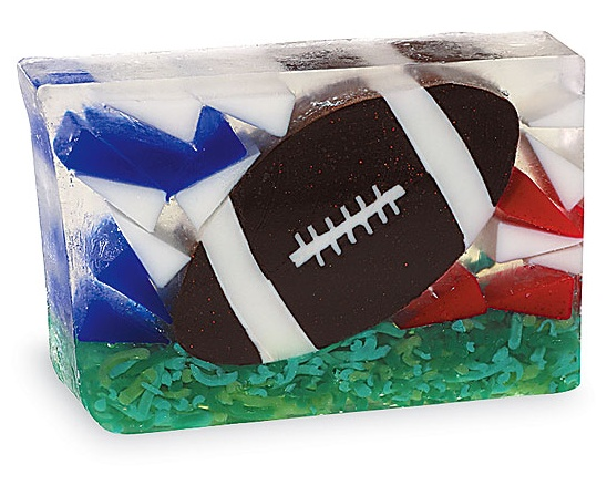 KM Gifts - Football Bar Soap, $8.00