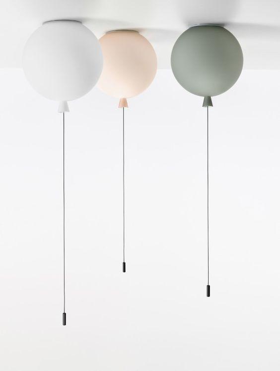 Luftballon-Lampen? Oh ja, bitte! Gibt's bei miniroom .