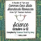 Common Core Science: Free Back-to-School eBook for Grades 6-12  Welcome Back Teachers!  TpT sellers have been busy this summer, and for good reason...