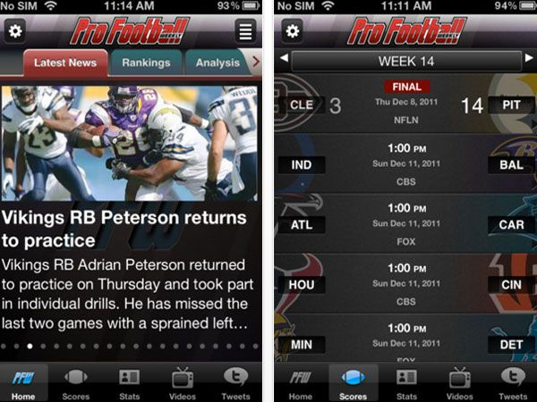Must-Have Fantasy Football Apps for 2012: Fantasy Football Insider