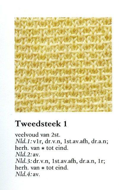 Tweedsteek 1 001 - Breisteken