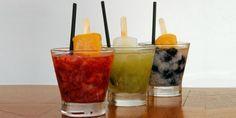 Bebidas com picolé para refrescar o verão