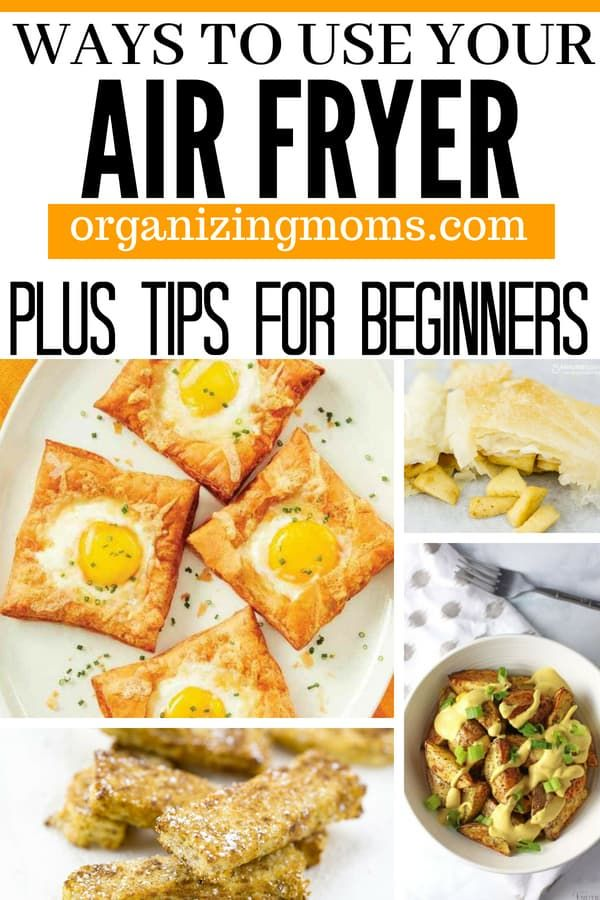 10 Ways To Use Your New Air Fryer Air Fryer Recipes Healthy Air Fryer Dinner Recipes Air Fryer Recipes Easy
