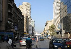 Ibrahim Ismail Chundrigar Road - Wikipedia, the free encyclopedia  Ibrahim Ismail Chundrigar Road aka I. I. Chundrigar Road is the financial district of Karachi, Pakistan that is the center of Karachi's banking and financial institutions