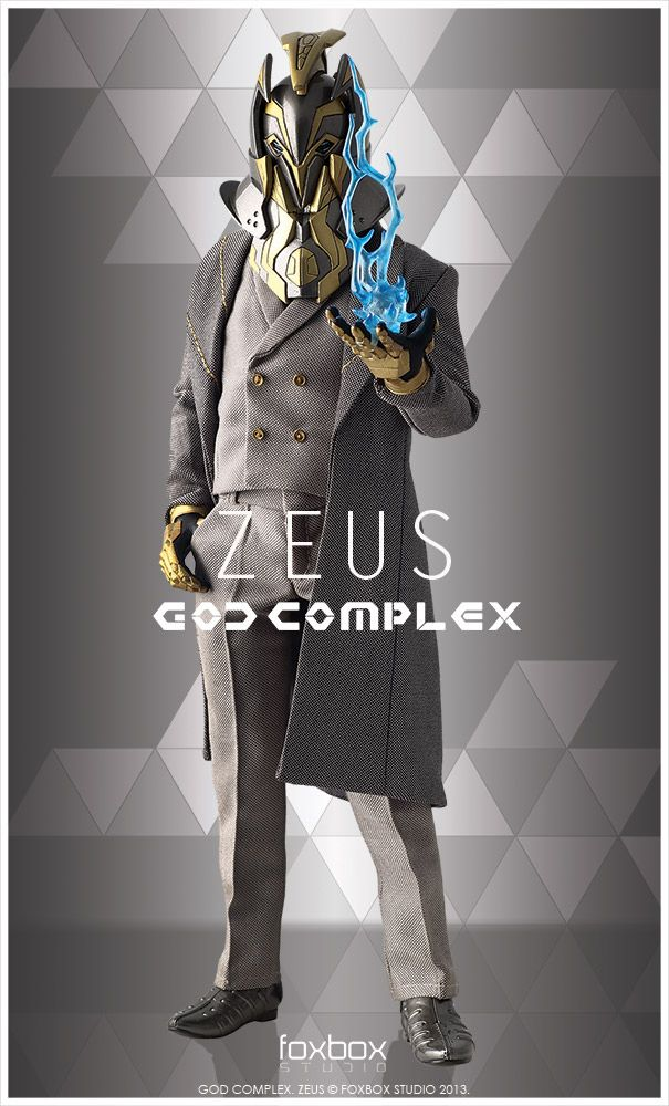 Foxbox Studio – God Complex: Zeus 1/6 Scale Collectible Figure | 玩具人Toy People News