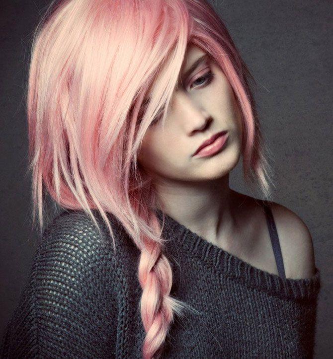 Цветные волосы – выбираем свой цвет