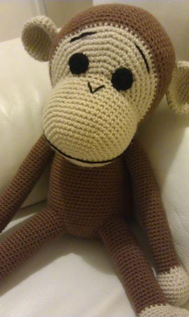 Big Monkey - crochet