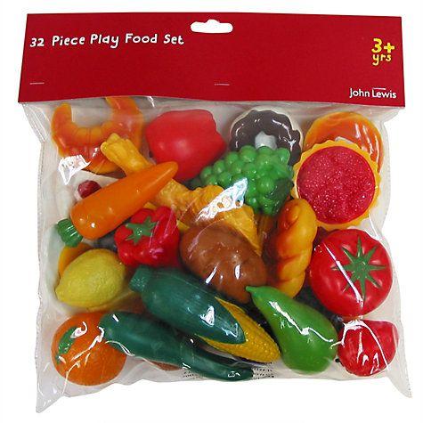 Buy John Lewis Play Food Set Online at johnlewis.com