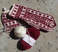 Norwegian mittens.