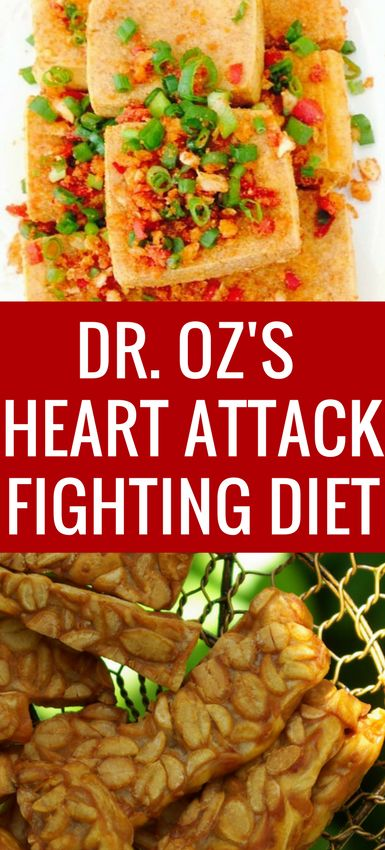 Dr. Oz's widowmaker heart attack diet that Bob Harper (from The Biggest Loser) swears by!