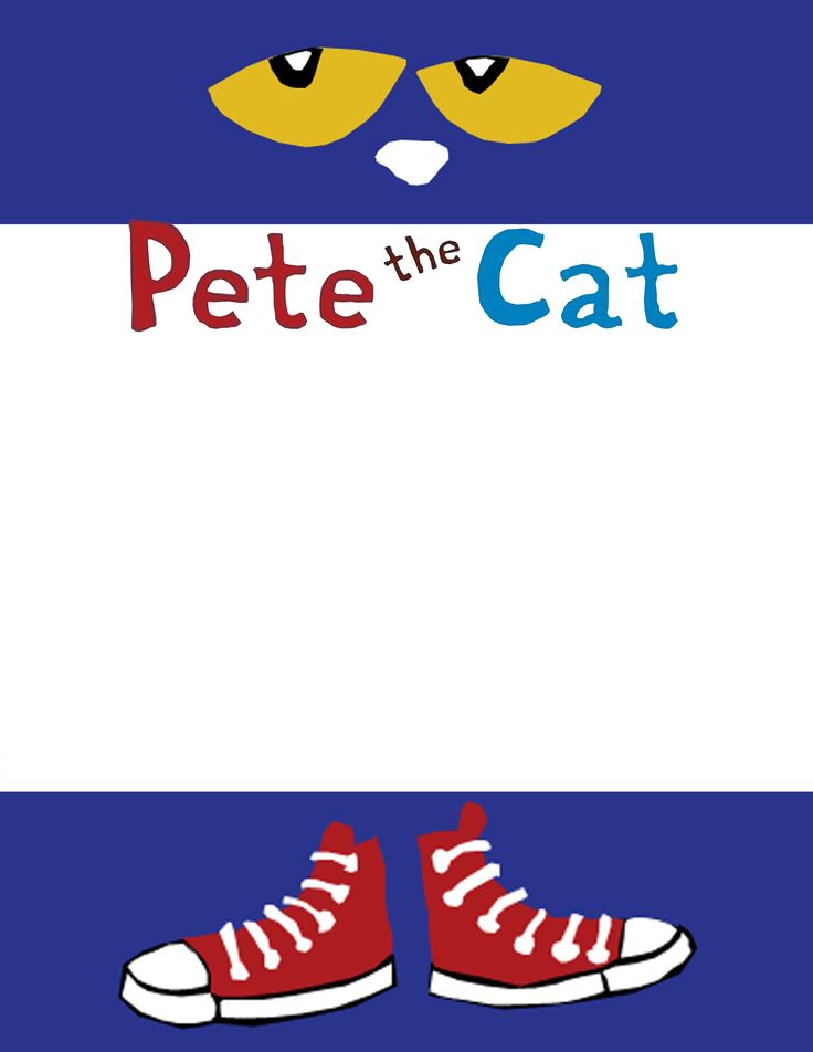 Pete The Cat Free Clipart  Clipart Suggest