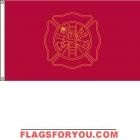 3' x 5' Fire Fighters US Made, High Wind Flag