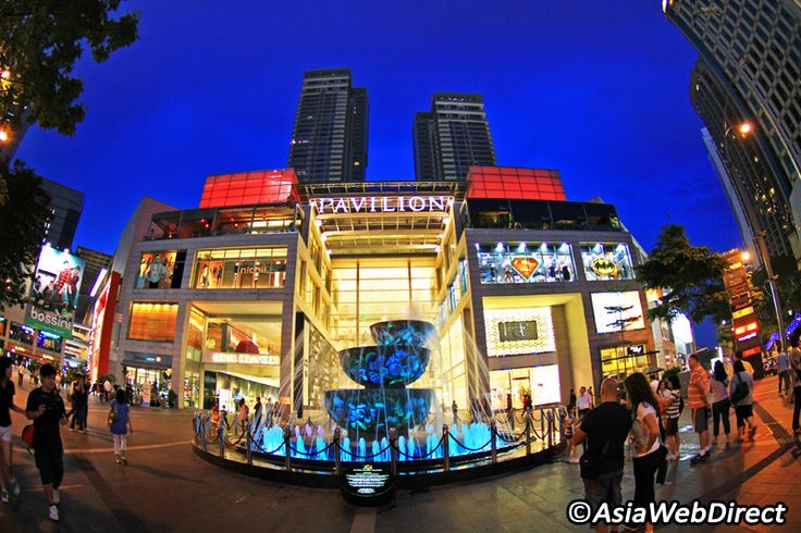 Located at the centre of the uber trendy Bukit Bintang district, the Pavilion Mall is Kuala Lumpur's trendiest and most shopping destination.