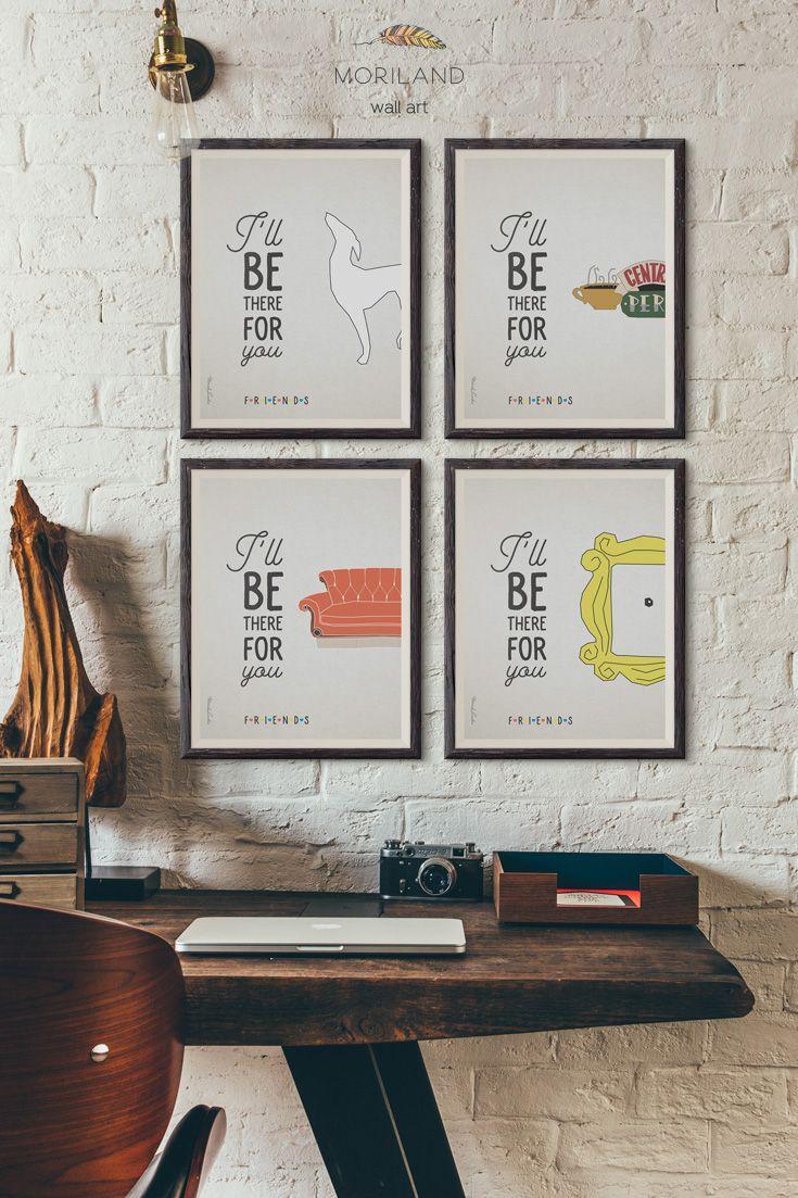 114 best TV Shows Decor images on Pinterest | Art posters, Friends ...