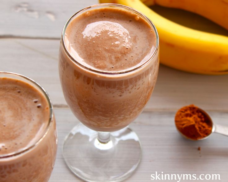Chocolate Peanut Butter Paradise - Love, love this thick and yummy smoothie!
