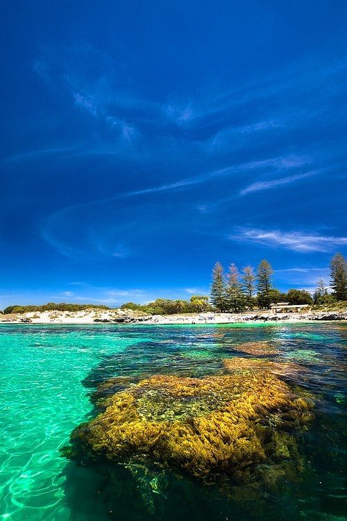 Rottnest Island, Western Australia It's been a while even though I can see the island from my house.