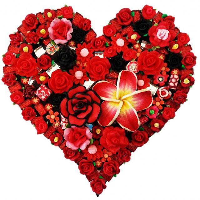 Valentino.Kim Steiner creation. #love #heart #embellish #heart
