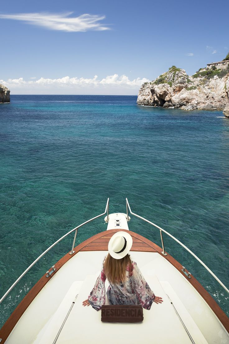 Enjoy a complimentary boat excursion along the coast with a swim in the clear blue waters.